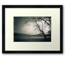 To Remember - Side Cut Metro Park Framed Print