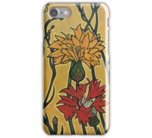 Mucha Ado About Flowers iPhone Case iPhone Case/Skin