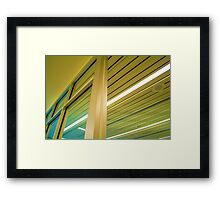 Perspective: Windows Framed Print