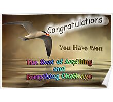 Banner Challenge - The Best of Anything and Everything Poster
