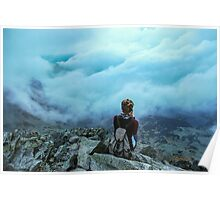 Above the sea of clouds Poster