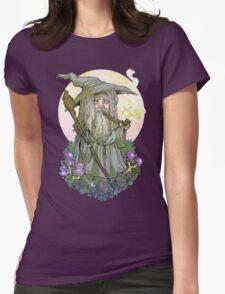 Gandalf the Kawaii Womens Fitted T-Shirt