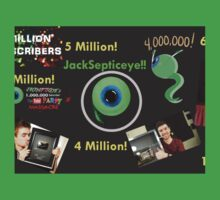 6 Million fanart Jacksepticeye One Piece - Short Sleeve
