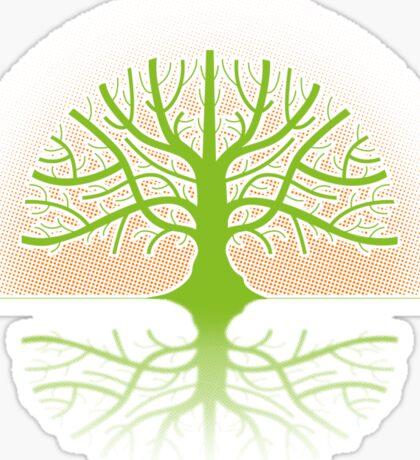 Tree T Sticker