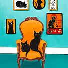 The Black Cat's Room by Ryan Conners