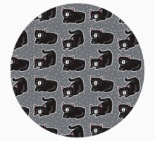 Cheeky Cat Pattern Kids Clothes