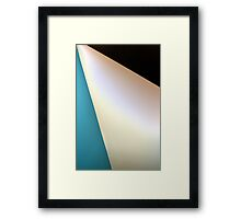 Triangolo Framed Print