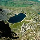 View from Cader Idris looking North, Wales, UK by David A. L. Davies
