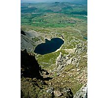 View from Cader Idris looking North, Wales, UK Photographic Print