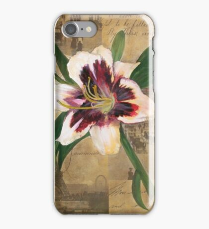 Lily of France iPhone Case/Skin