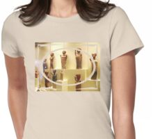 figurines at a greek museum Womens Fitted T-Shirt