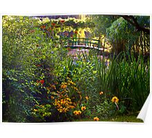 Monet's Garden, Giverny, France Poster