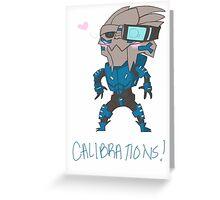 Calibrations Greeting Card