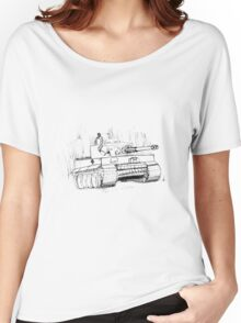 Tiger Tank Women's Relaxed Fit T-Shirt