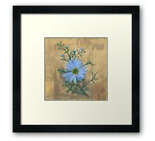 Russia's Chamomile Framed Print