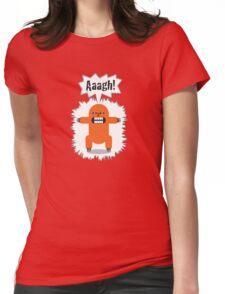 Noisy Little Terrors - 'Arrgh!' cartoon character T-shirt Womens Fitted T-Shirt