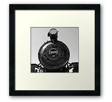 Locomotive 360 Framed Print
