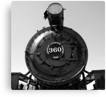 Locomotive 360 Canvas Print