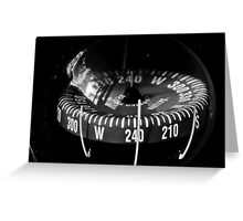 Following the Compass Greeting Card