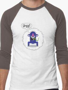Noisy Little Terrors - 'Urrg!' cartoon character T-shirt Men's Baseball ¾ T-Shirt