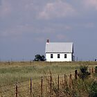 Little White Farmhouse by DreamBigInk1