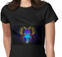 Bohemian Beetle Womens Fitted T-Shirt
