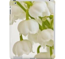 Lily Of The Valley - Macro  iPad Case/Skin