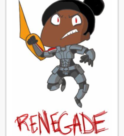 Renegade Sticker