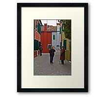 Generations. Framed Print