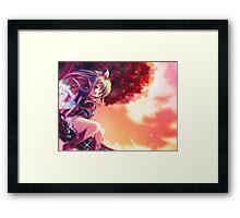 Light Spirits Fantasy Anime Girl Framed Print