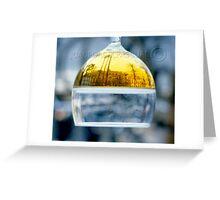 Plaça Reial by night Greeting Card