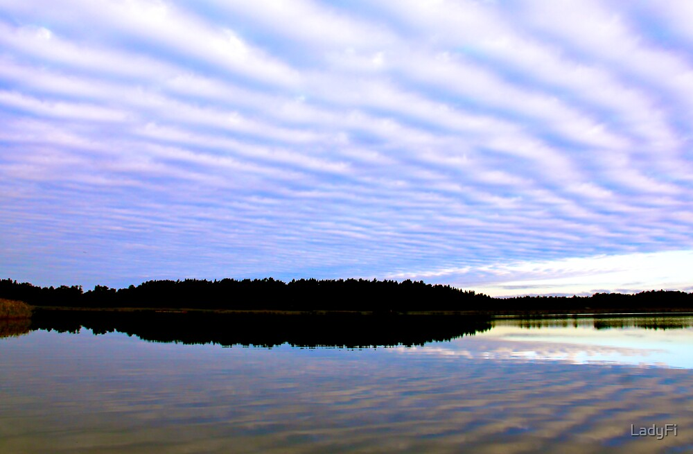 Floating clouds by LadyFi