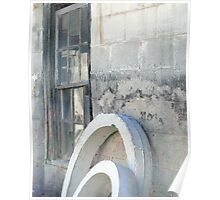 Concentric Concrete Poster