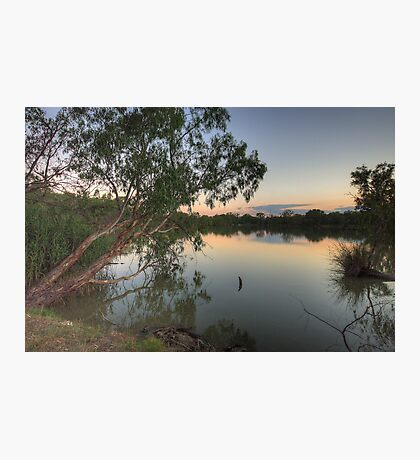 Last Light - Murray River, NSW Australia - The HDR Experience Photographic Print