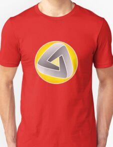 Curvy Mobius Triangle T-shirt Unisex T-Shirt