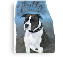 AMSTAFF BULLO Canvas Print