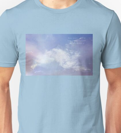 Daydreaming in haiku Unisex T-Shirt