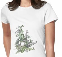 Lost Time Womens Fitted T-Shirt