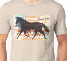 Forever Free - Patriotic Horse Unisex T-Shirt