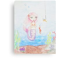 Marina the Mermaid Canvas Print