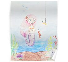Marina the Mermaid Poster
