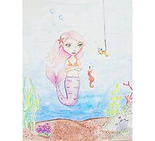 Marina the Mermaid Photographic Print