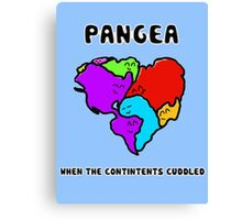 Pangea- the happy continent  Canvas Print