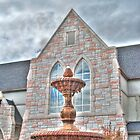 HDR - SSLC - Fountain and Stone by Doug Greenwald