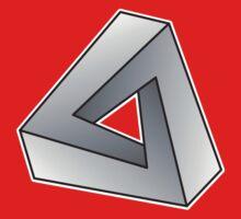 Mobius Triangle (Angular) Baby Tee