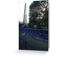 Millennium Force Greeting Card