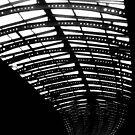 York station Roof by Karen  Betts