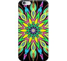 Simetric Colorful Ethnic Mandala Flower - Zentangle iPhone Case/Skin