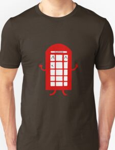 Cartoon Telephone Box T-Shirt