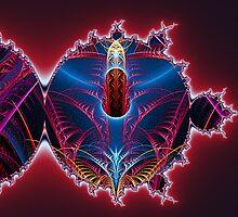 Pierced Mandelbrot  (UF0024) by barrowda